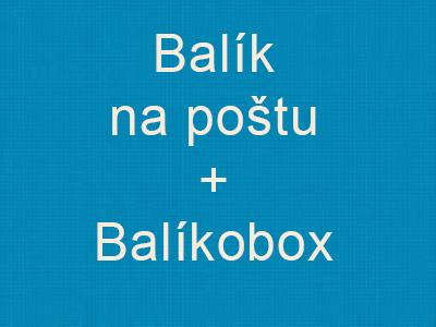 Balík na poštu + BalíkoBOX